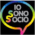 Logo Io Sono Socio 120, Proges