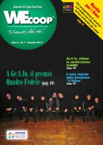WEcoop n°1 Genn. 2013, Io Sono Socio Proges