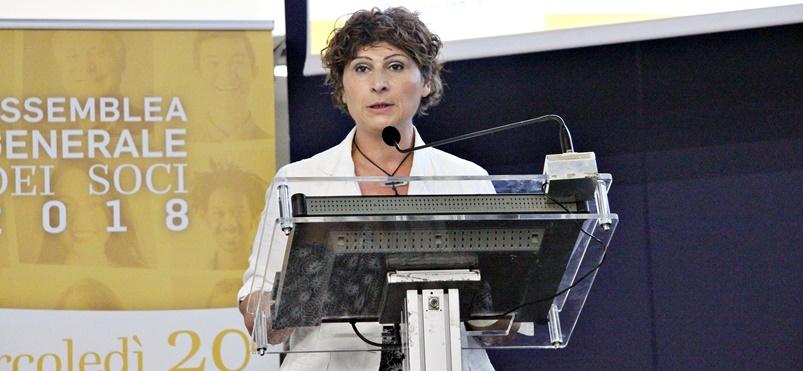 Assemblea Generale Soci Proges 2018, Michela Bolondi Presidente Cooperativa, Io Sono Socio Proges
