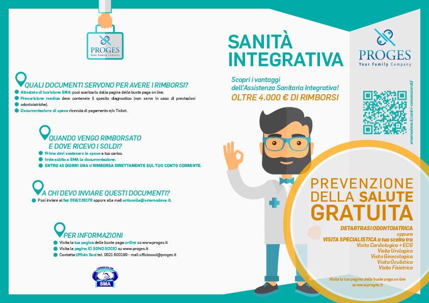 SMA Sanità Integrativa 2019, Io Sono Socio Proges